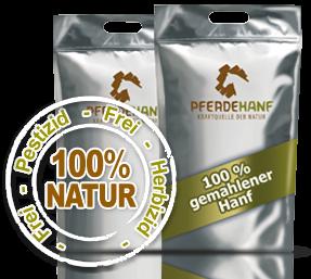 Pferdehanf 100% Natur - 4 kg Sack luftdicht verpackt